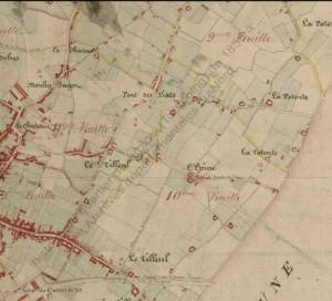 Toutes le zones en 1850