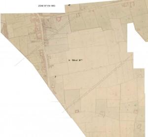 zone BT en 1850
