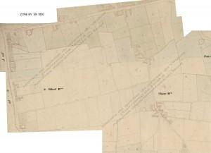 zone BV en  1850