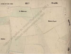 zone BY en 1850