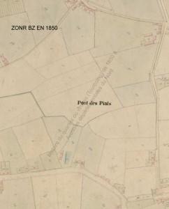 zone BZ en 1850