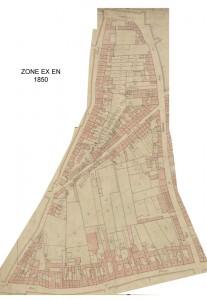zone EX en 1850
