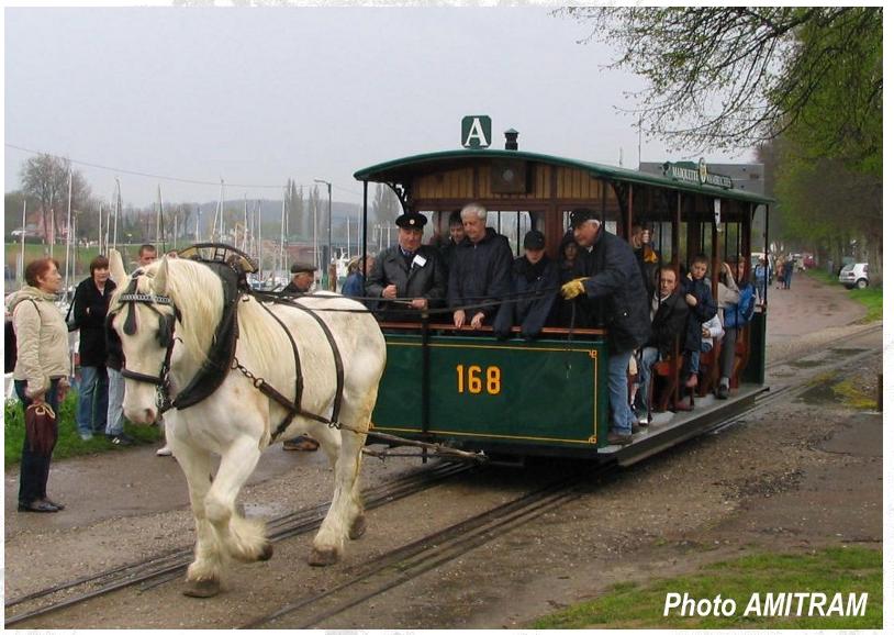 1896 - Tramway hippomobile n° 168 - AMITRAM - Tramway Touristique de la Vallée de la Deûle