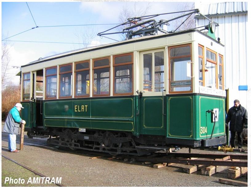 1906 - Motrice n° 304 - AMITRAM - Tramway Touristique de la Vallée de la Deûle