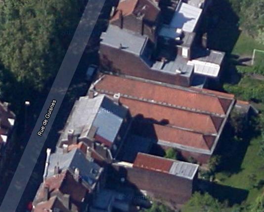 Batiments rue Guisnes (face au jardin botanique)