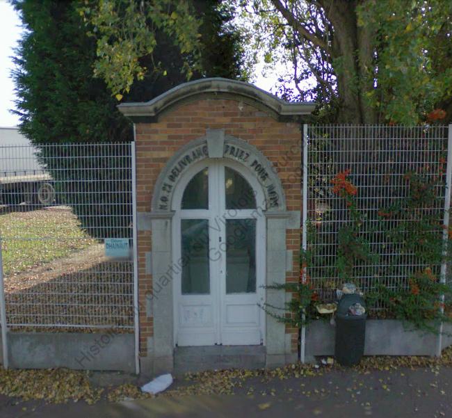 Chapelle rue du Virolois rue des fauvettes copie