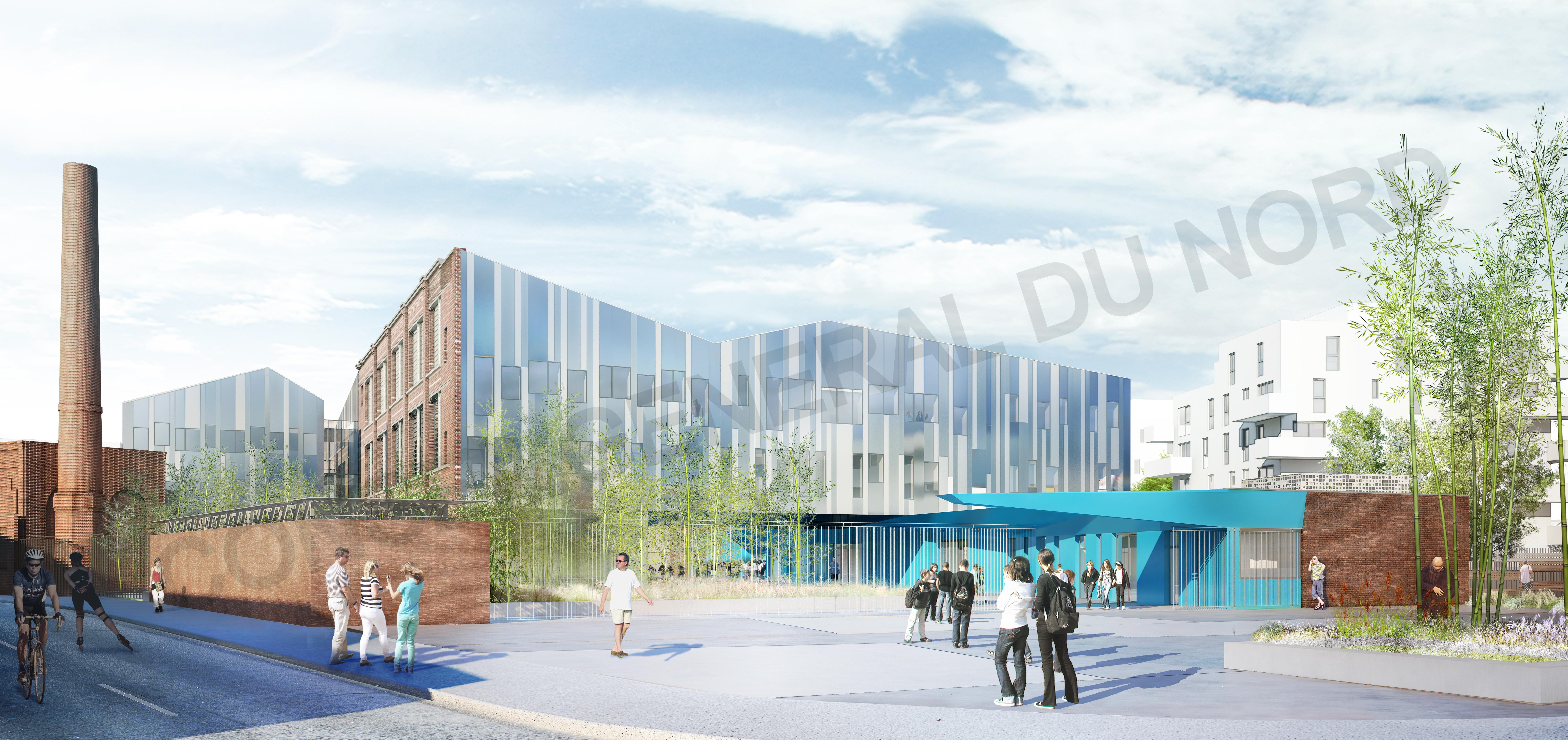 Collège Albert Roussel à Tourcoing (1)