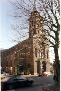 Eglise Saint Joseph à la Croix Rouge avant sa démolition   TOURCOING Ma Ville mon quartier La MARLIERE