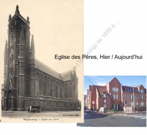Eglise des Péres Hier_Aujourd'hui