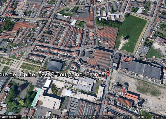 Epine vue aérienne Google 2013 copie