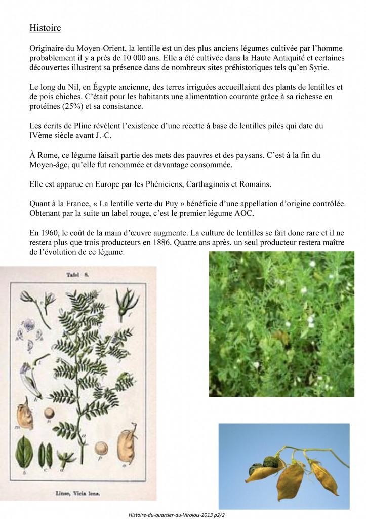 Histoire du Virolois La lentille-2