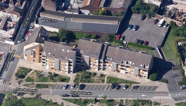 Immeuble angle rue de Guisnes et de Renaix