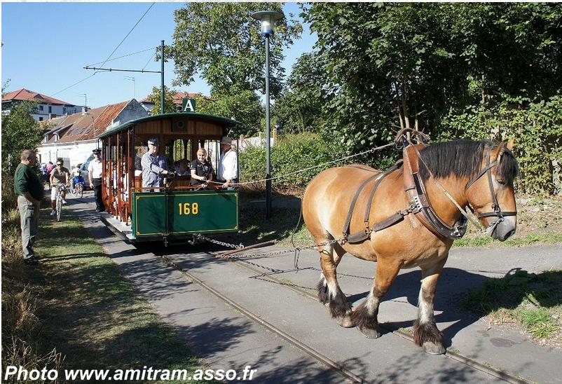 Inauguration ensoleillée pour la motrice n° 432 - AMITRAM - Tramway Touristique de la Vallée de la Deûle