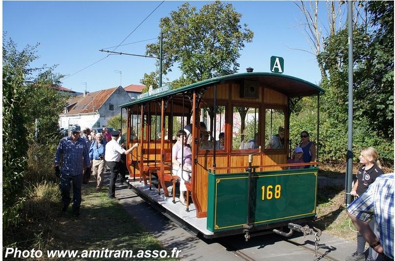 Inauguration ensoleillée pour la motrice n° 432 - AMITRAM - Tramway Touristique de la Vallée de la Deûle(1)