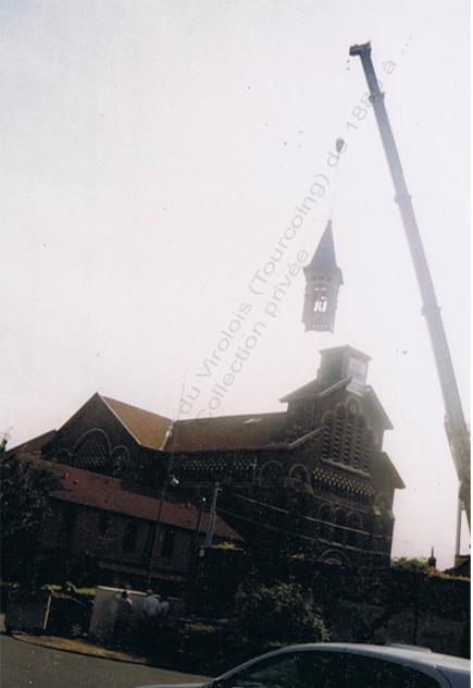 St Jean Baptiste clocher descend2- juin 2001 copie