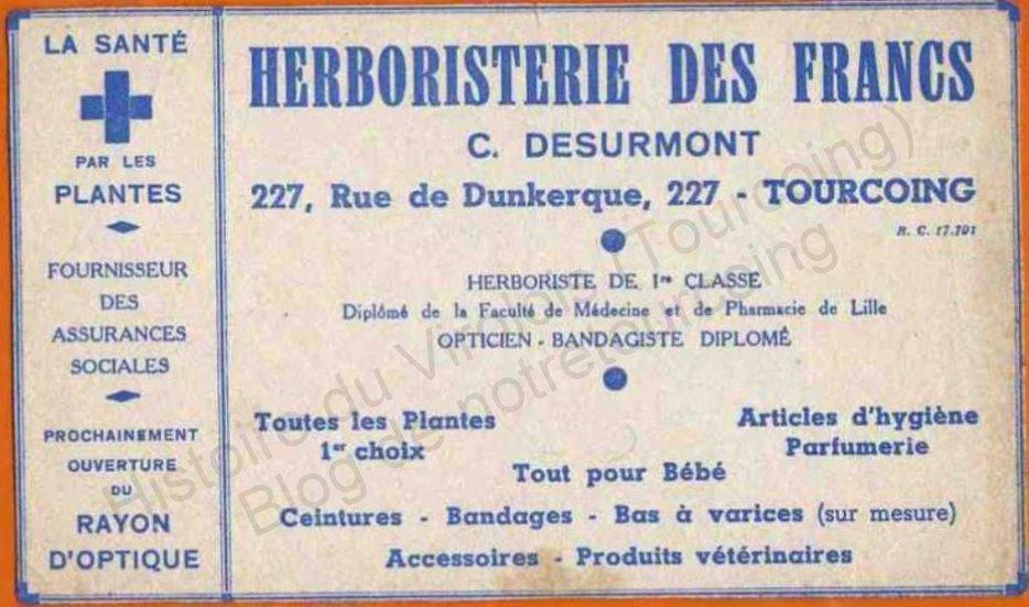 herboristeries des francs