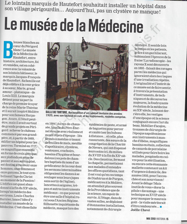 le musée de la médecine