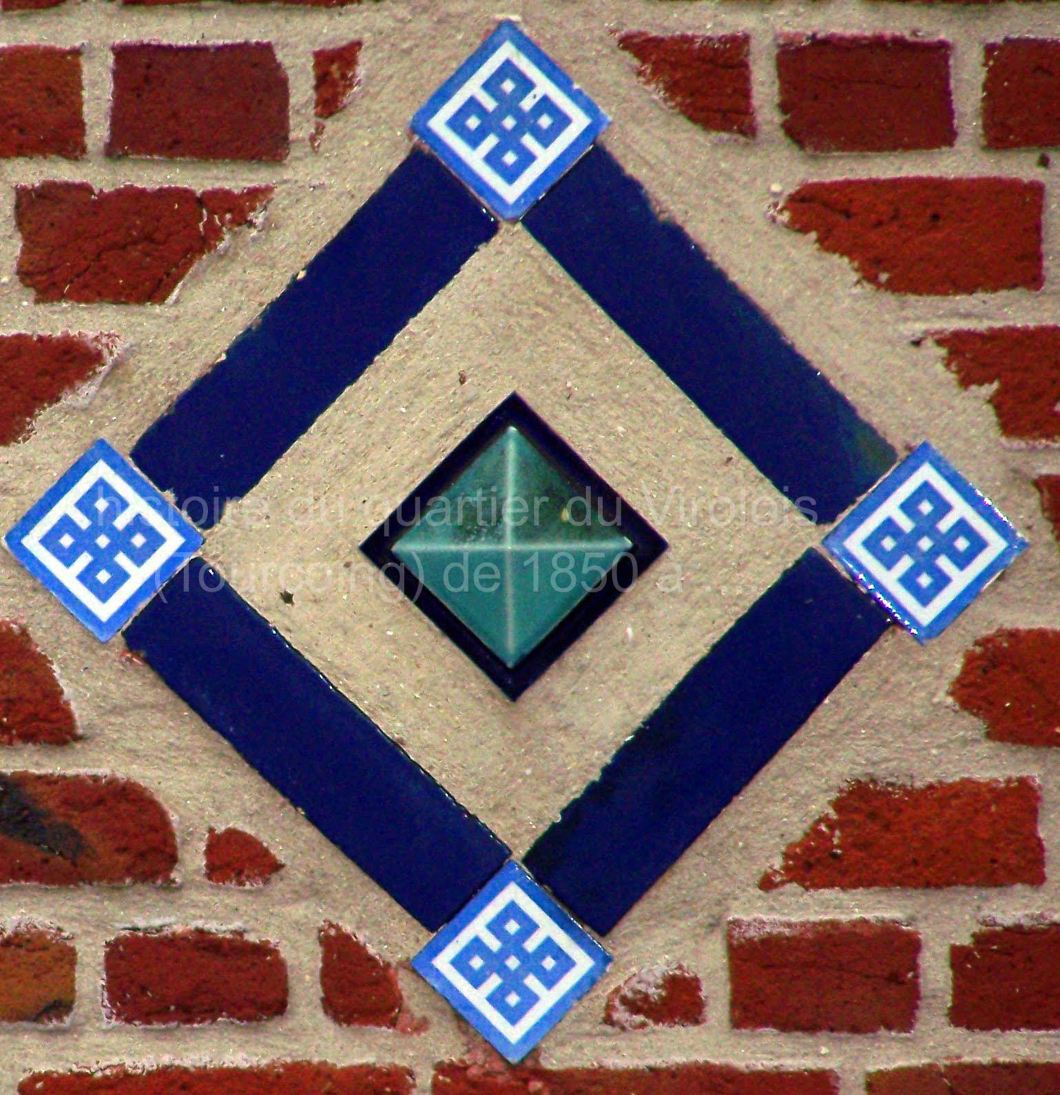 losange bleu