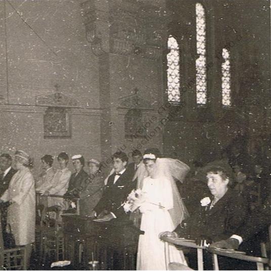 mariage en 1966 à St Jean Baptiste copie