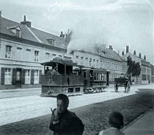 tramway vapeur