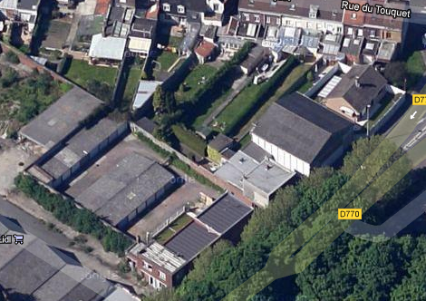usine rue du levant (face au lidl)
