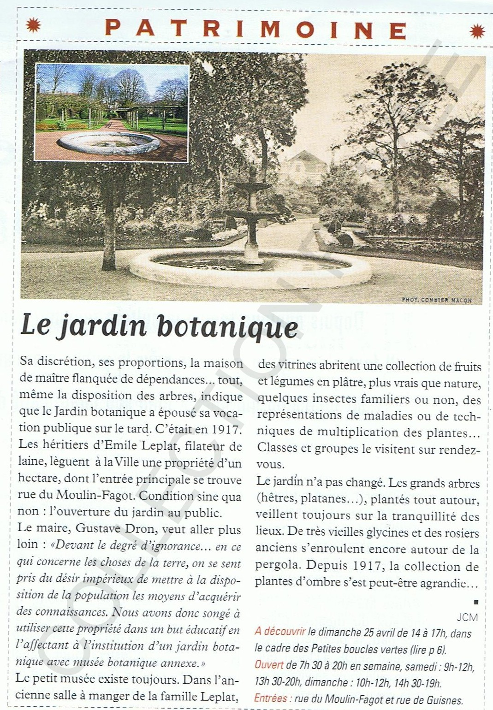 jardin botanique Label ville