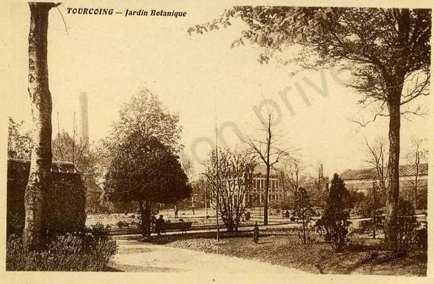 jardin botanique cheminée