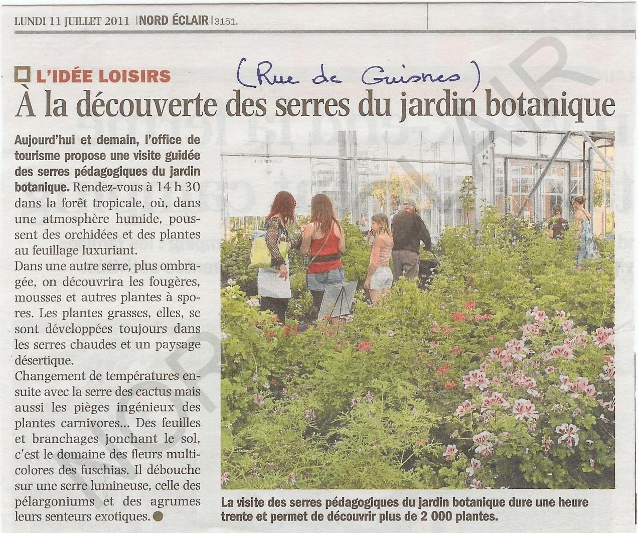 jardin botanique juillet 2011