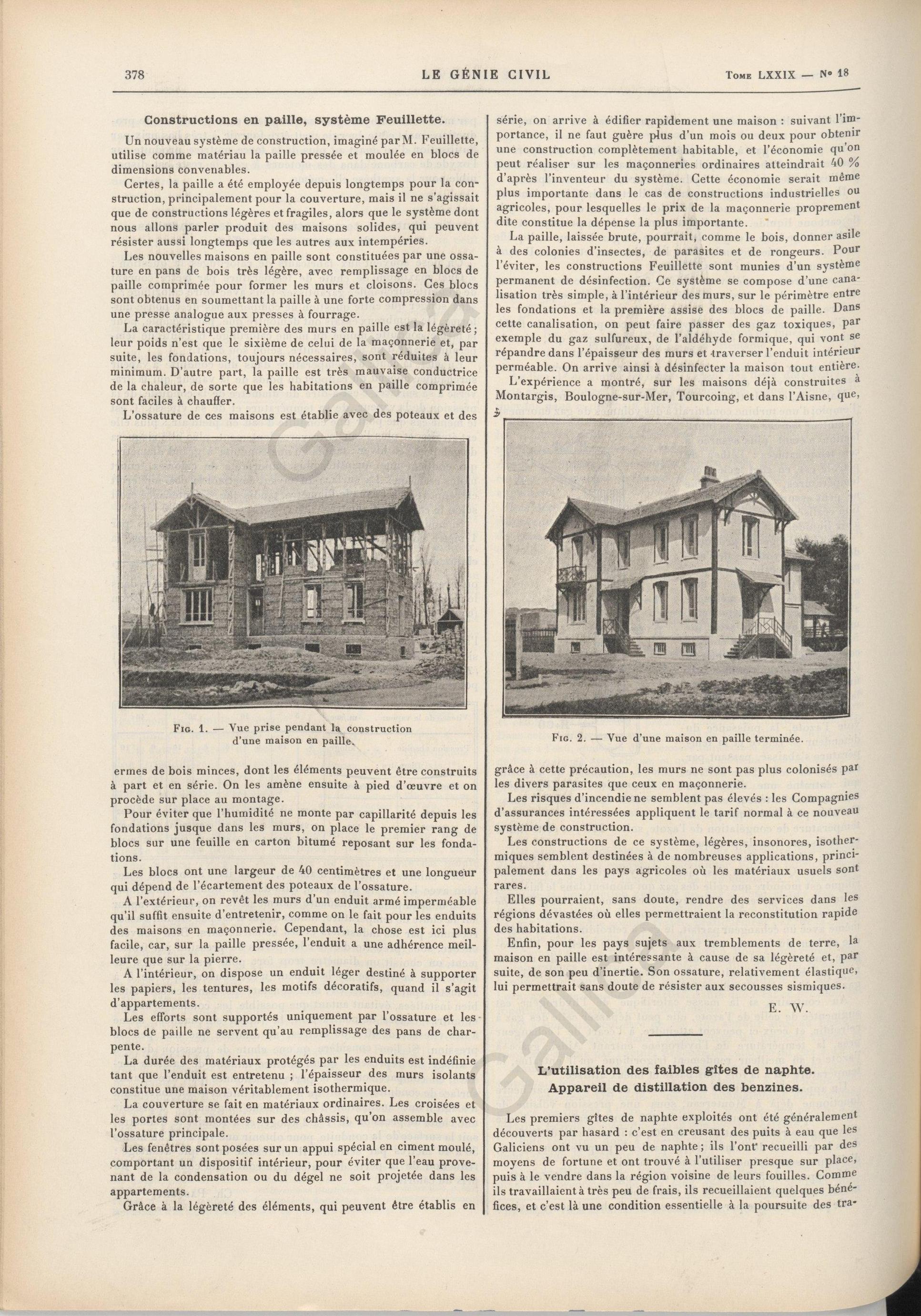 Histoire du virolois recherche d une maison construite for Origine du mot maison