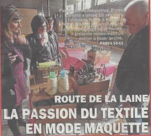 route de la laine maquette