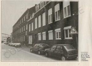 rue du Prince 1 Façade de l'école