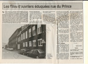 rue du Prince 1 ex ste Marguerite Marie