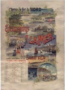 chemins de fer du nord 1895