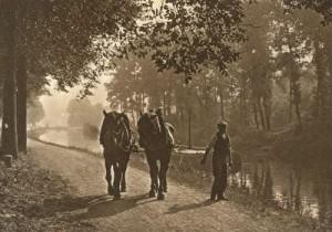 halage sur la sambre mdb 1938