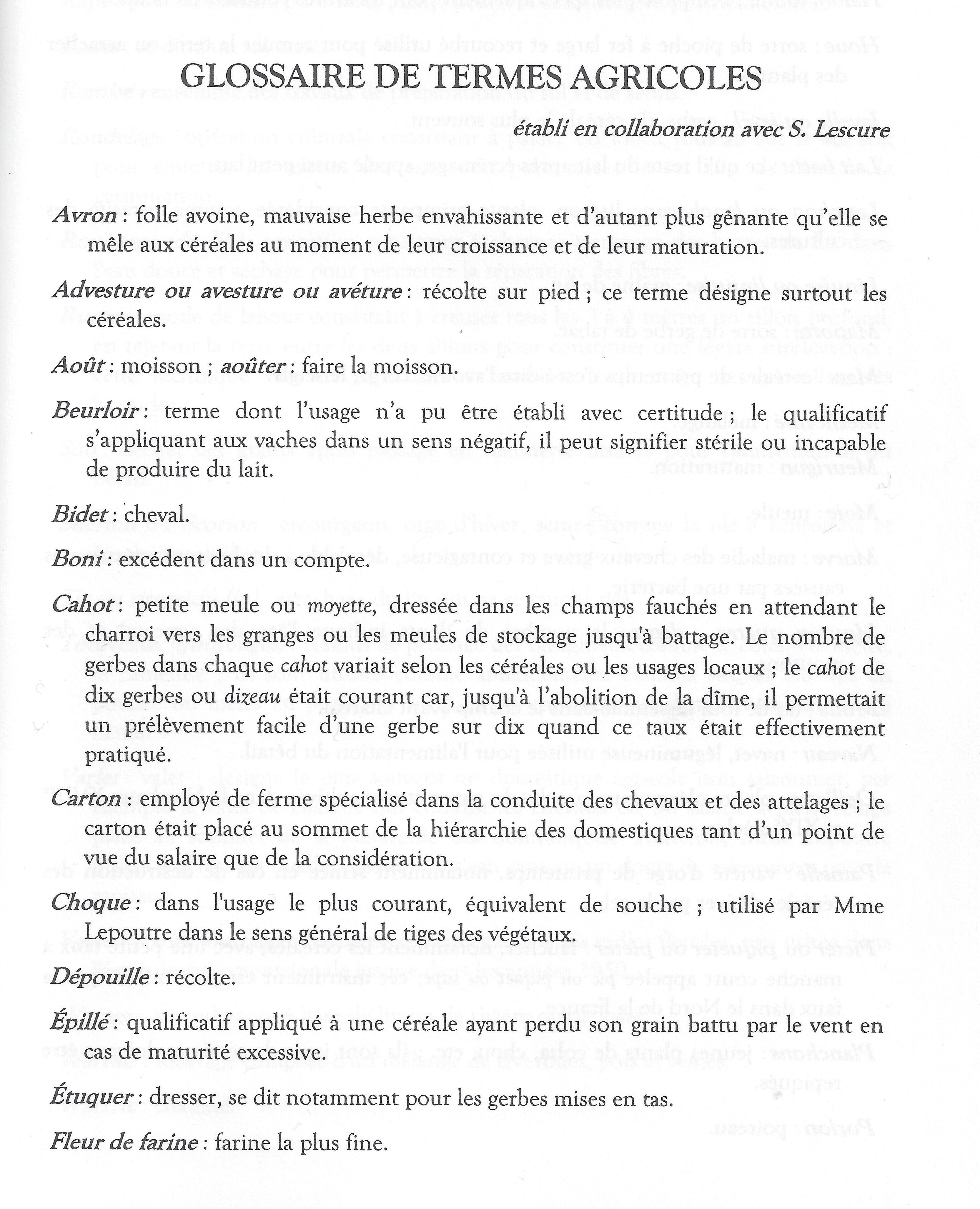 glossaire des thermes agricoles10