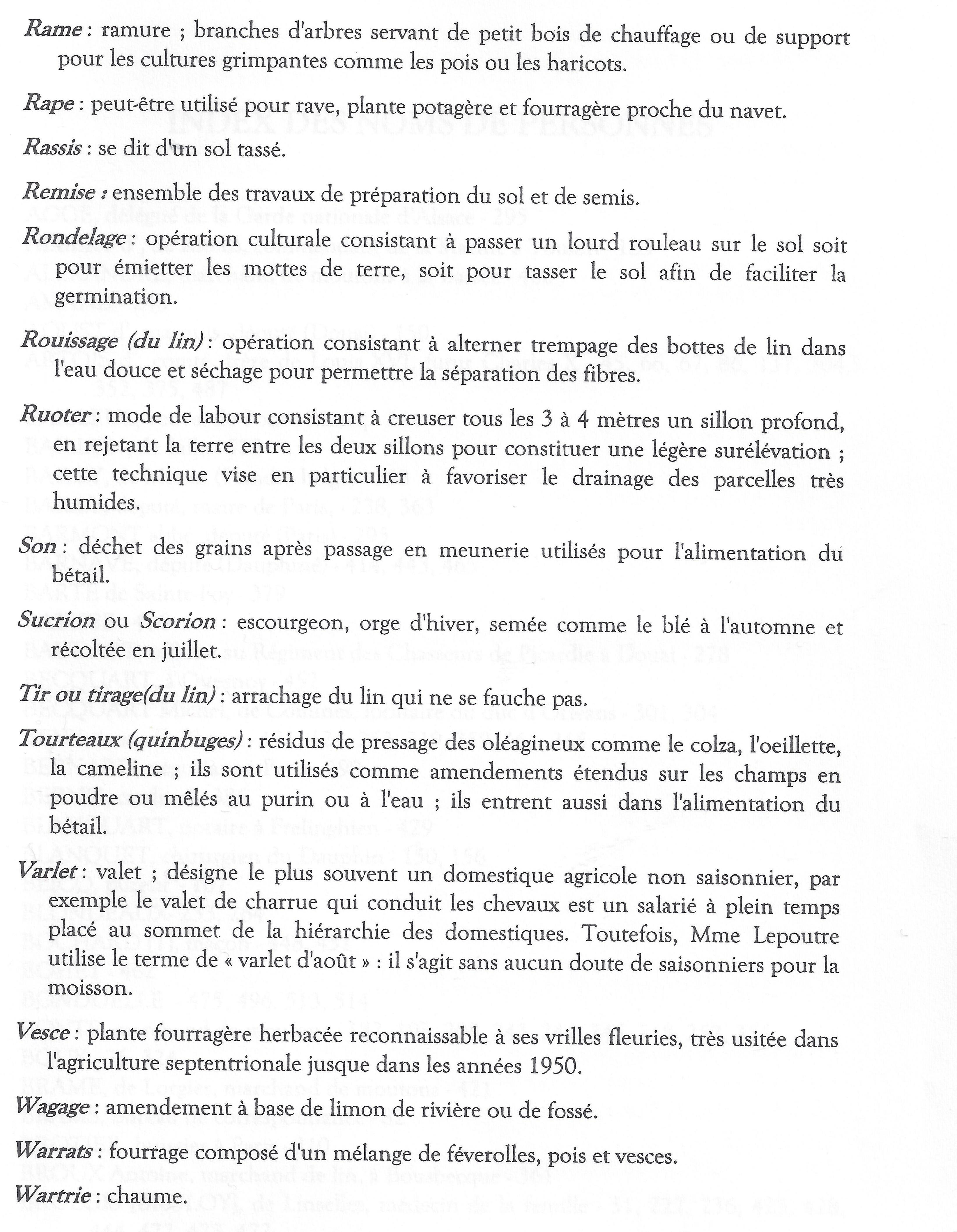 glossaire des thermes agricoles30