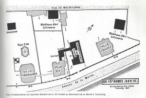 nord dans la tourmente qg 15iéme armée  myrone n cuich 19