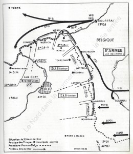 nord dans la tourmente qg 15iéme armée  myrone n cuich 2