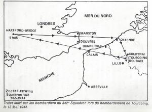 nord dans la tourmente qg 15iéme armée  myrone n cuich 39ter