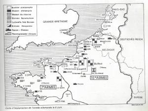 nord dans la tourmente qg 15iéme armée  myrone n cuich 43bis