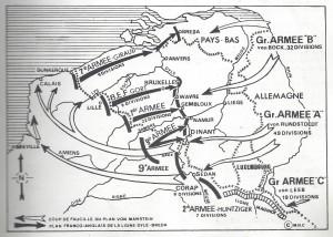 nord dans la tourmente qg 15iéme armée  myrone n cuich 5bis