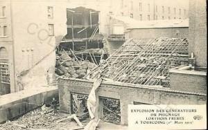 tg explosion Lorthois 1913