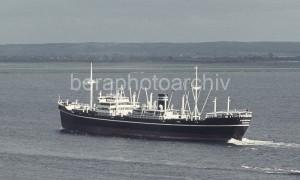 Das Frachtschiff TOURCOING