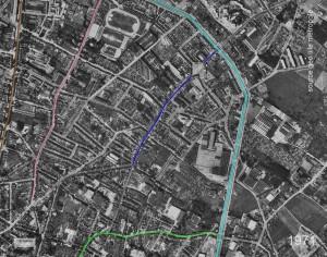 croix rouge coté Est 1971