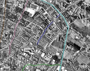 croix rouge coté Est 1983
