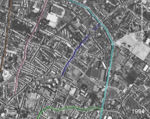 croix rouge coté Est 1994