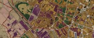 gare de francs (plan) en 1922 zoom