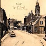 rue de la croix rouge 1952