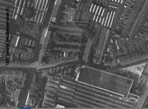 angle rue de guisnes et renaix en 1930