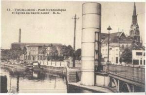 pont hydaulique